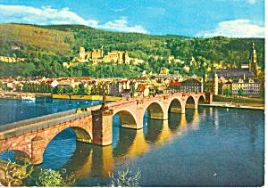 Heidelberg Germany Postcard cs0922 (Image1)