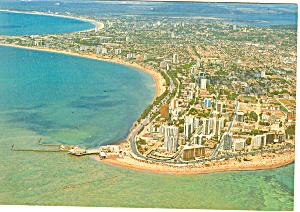 Maceio Brazil Avenida Beach Postcard cs0926 1997 (Image1)