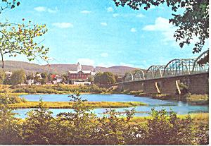 Bridge at Danville PA Postcard cs0936 (Image1)