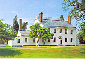 Northumberland Pa Dr Priestly Home Museum Postcard Cs0953