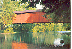 Stllwater Covered Bridge, Stllwater,PA Postcard (Image1)