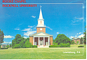 Bucknell University Lewisburg Pennsylvania Postcard cs0972 (Image1)