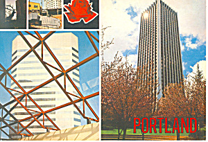 Five views of  Portland Oregon Postcard cs0979 (Image1)
