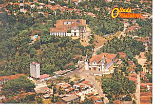 Olinda Pernambuco Brazil Postcard cs0984 1997 (Image1)