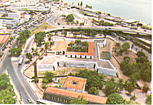 Five Point Forte Recife Brazil Postcard 1999 (Image1)