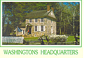 Valley Forge,PA Washingtons Headquarters Postcard (Image1)