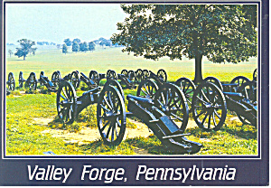 Valley Forge,PA Lunette Canon Postcard (Image1)