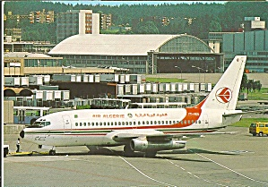 Air Algerie 737-2D6 Postcard cs10001 (Image1)