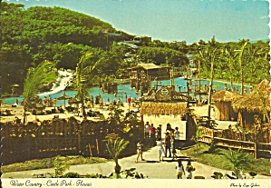 Castle Park Hawaii Water Country Postcard cs10006 (Image1)