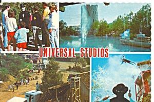 Universal Studios Four Views Postcard cs10032 (Image1)