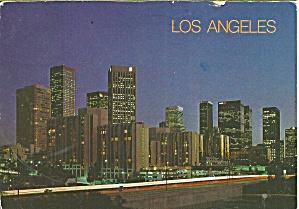 Los Angeles CA Night View Skyscrapers cs10035 (Image1)