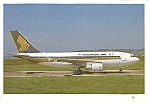Singapore Airlines Airbus A310-300 9v-sto / F-wwcx Cs10040