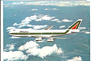 Alitalia 747 I-DEMA in Flight cs10047 (Image1)