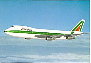 Alitalia 747-243B Combi in Flight cs10048 (Image1)