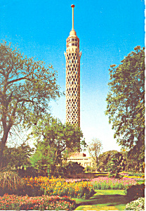Cario Egypt The Tower Postcard cs1005 1976 (Image1)