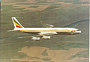 Ethiopian 707 in Flight Postcard cs10093 (Image1)