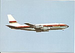 Caribbean Air 707 in flight Postcard cs10097 (Image1)