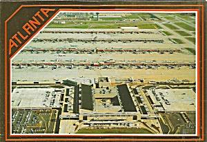 Atlanta International Airport Postcard cs10109 (Image1)