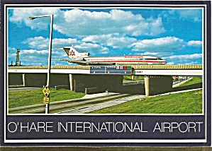 Chicago Il O Hare International Airport Postcard Cs10110