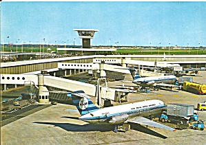 Amsterdam Airport Schiphal  Airport Postcard cs10111 (Image1)