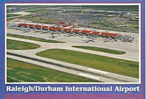 Raleigh Durham International  Airport Postcard cs10112 (Image1)