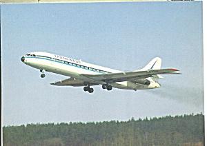 Transwede Caravelle SE 210B Postcard cs10113 (Image1)
