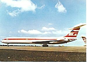 Czech Airlines IL-62  Postcard cs10123 (Image1)