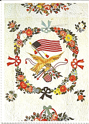 Details of Album Quilt Smithsonian  Postcard cs 10125 (Image1)