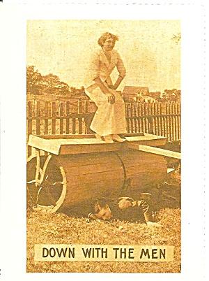 Women s Rights Postcard  Smithsonian   cs 10129 (Image1)