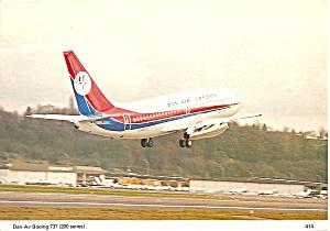 Dan Air 737-200  on Takeoff cs10130 (Image1)