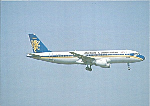 British Caledonian Airbus A320-110  F-WWDA at Toulouse  cs10151 (Image1)