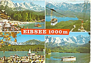 Views Of Eibsee Bavaria Germany Cs10152
