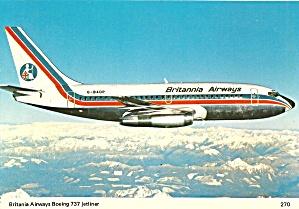 Britannia Airways 737 G-BADP in Flight  cs10155 (Image1)