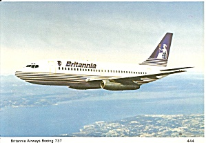 Britannia Airways 737 In Flight Cs10157