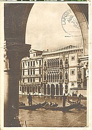 Venice Italy Ca d Oro 1953 Postcard cs10163 (Image1)
