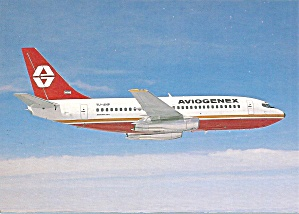 Aviogenex 737-2k3 Yu-anp In Flight Cs10171