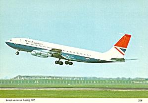 British Airways 707 G-AYLT on Takeoff cs10182 (Image1)