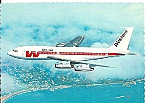 Western Airlines 707 in Flight cs10183 (Image1)