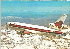 THAI Airways International DC-10 N8708Q in Flight cs10246 (Image1)