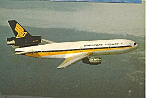 Singapore Airlines DC-10-30 9V-SDA in Flight cs10248 (Image1)