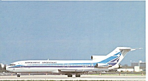 Aerolineas Argentinas 727-287 Lv-olp At Miami Cs10251
