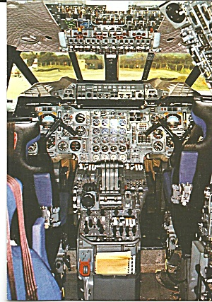 Flight Deck Of The Concorde Cs10257
