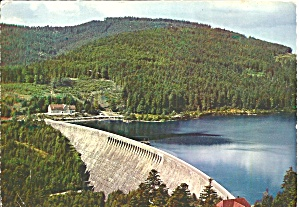 Dam Mountains Black Forest Germany Cs10269