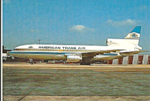 American Trans Air L-1011-1 N187at Cs10270