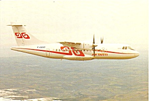 Air Tahiti Atr-42 F-odud In Flight Cs10275