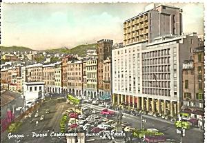 Genova Genoa Italy Piazza Cazicamento cs10297 (Image1)