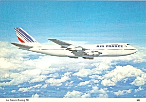 Air France 747 F-bpvf In Flight Cs10307