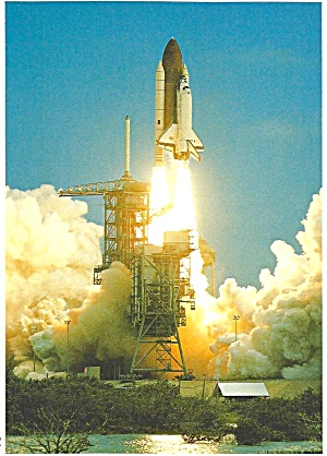 NASA  Space Shuttle Shown on Liftoff cs10327 (Image1)