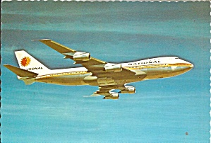 National Airlines 747  in Flight cs10336 (Image1)