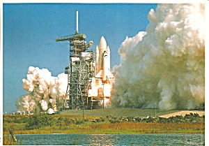 Shuttle Columbia Lifting Off On Sts-2 Cs10346
